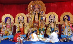 Durga Puja Celebrations in Kolkata