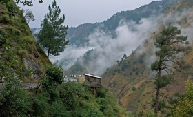 Explore the beautiful mist-clad hill station Kasauli