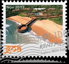 goa holiday rental db stamp