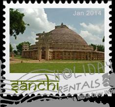 sanchi-stupa-stamp