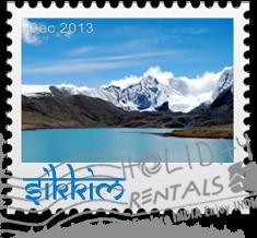 Sikkim Holiday Rentals Stamp