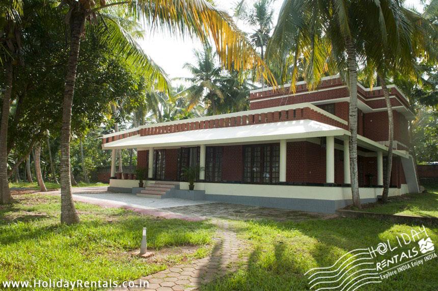 Front View (another angle) of Vellayani lake homestay, Trivandrum, Kerala