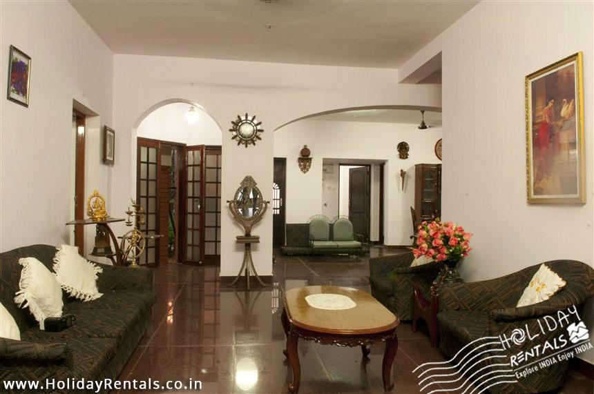 Vellayani lake Villa's Lobby