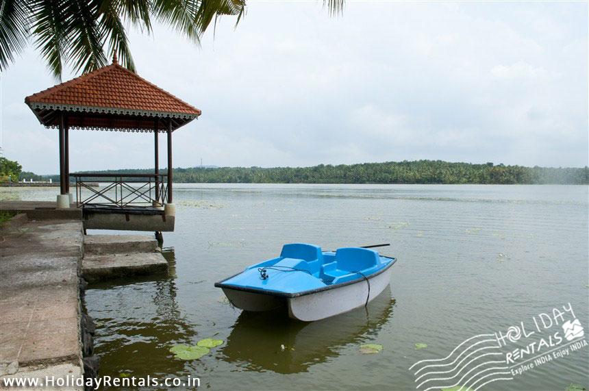 Pedal boat in Vellayani Homestay