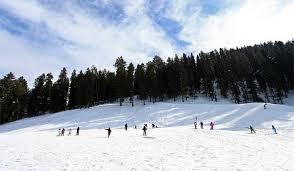 snowskiing