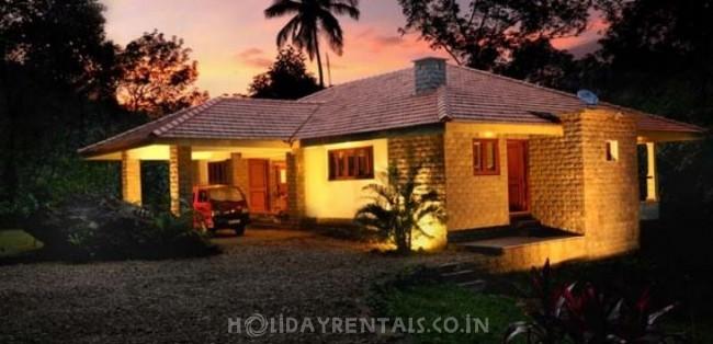 Colonel's holiday home in Mavady Hills, Vagamon