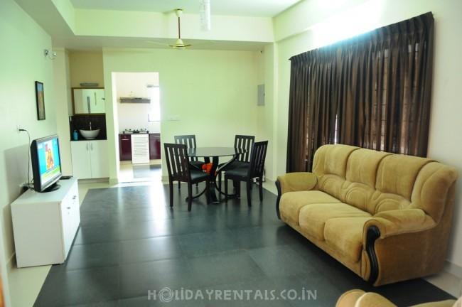 2 Bedroom Serviced Apartment, Trivandrum