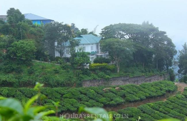 Tea estate view Villa, Munnar