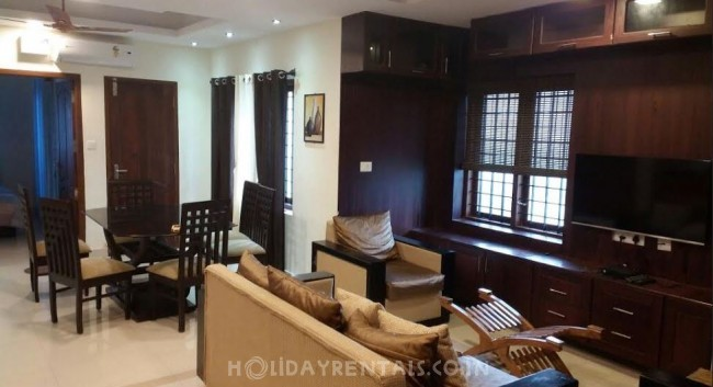 3 BHK Service Apartment, Trivandrum
