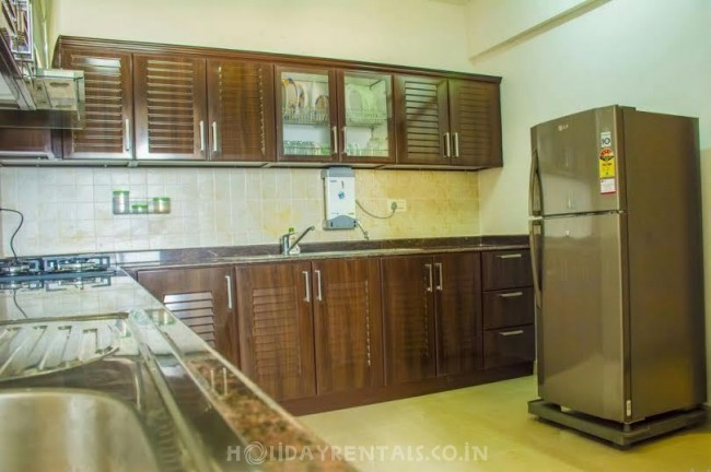 2 Bedroom Service Apartment in Aakkulam, Trivandrum