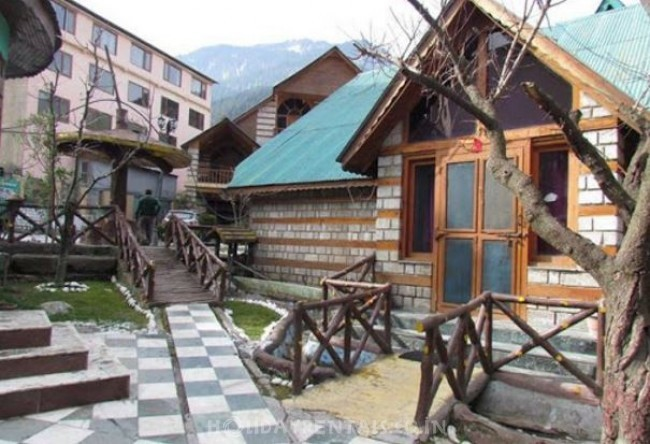 Royal Cottages near The Mall, Manali