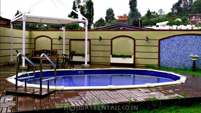 Holiday Villa near Havelock Road, Ooty
