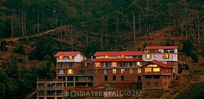 Baijnath Valley View Resort, Kausani