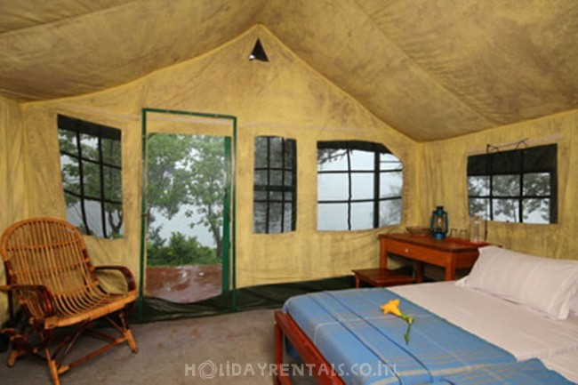 Forest tented cottage camp, Pathanamthitta