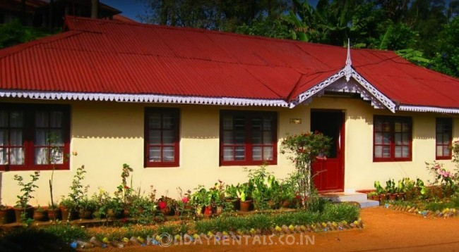 Cottages near Tea Museum, Munnar