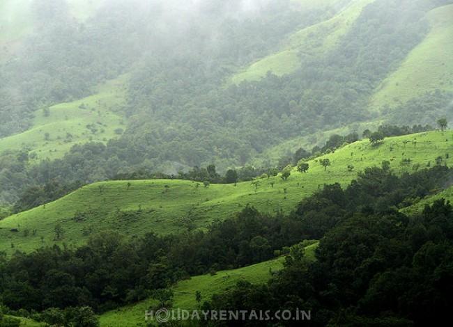 Home near Rajas Seat, Madikeri