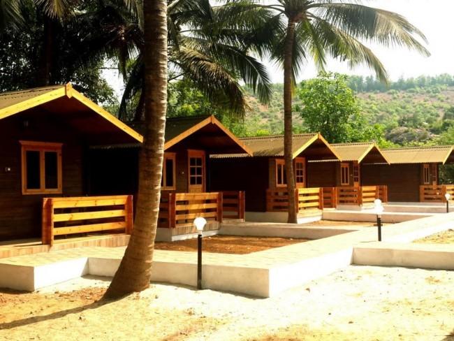 Ocean Front Cottages, Gokarna