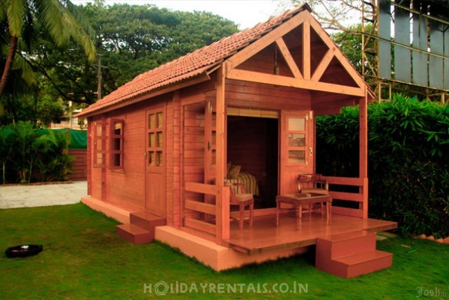 Wooden Cottages , North Goa