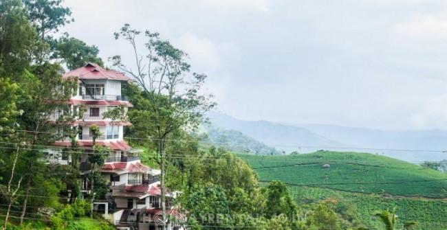 Valley Facing Rooms, Munnar