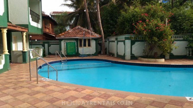1 Bedroom Flat, Calangute