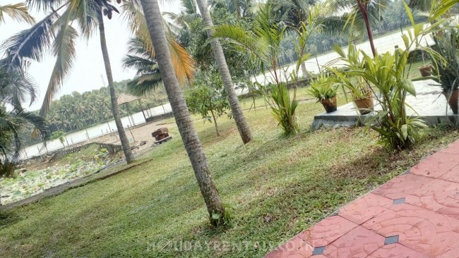 Vellayani lake facing Serviced Villa, Trivandrum