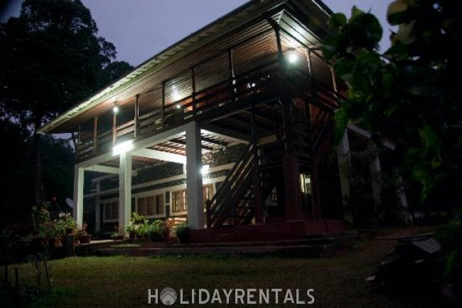 3 Bedroom Forest Bungalow, Idukki