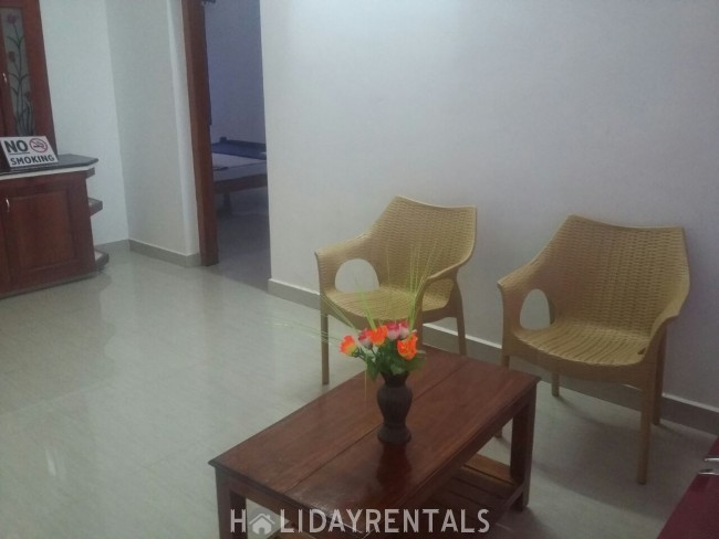2 Bedroom Holiday Home, Thekkady