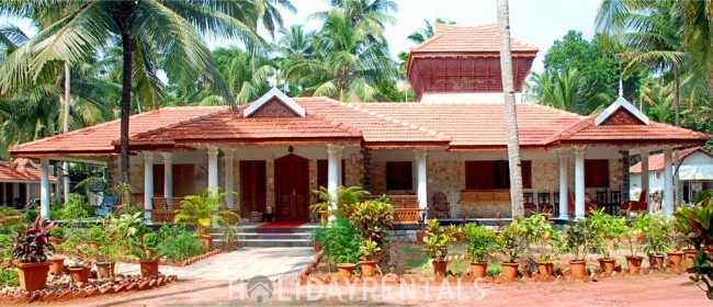 3 Bedroom Holiday Home, Kollam
