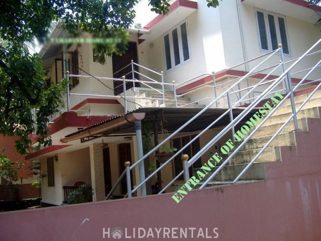 2BHK Holiday home, Changanassery