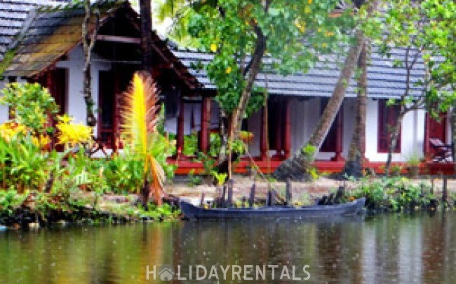 Backwater View Cottages, Alleppey