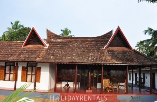 2 Bedroom Heritage Home, Alleppey