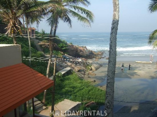 Budget Holiday Home Near Light House Beach, Trivandrum