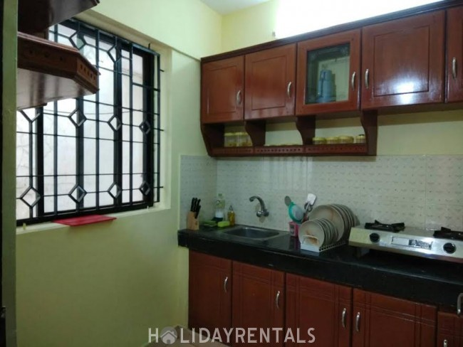 3 Bedroom Non A C Flat , Trivandrum