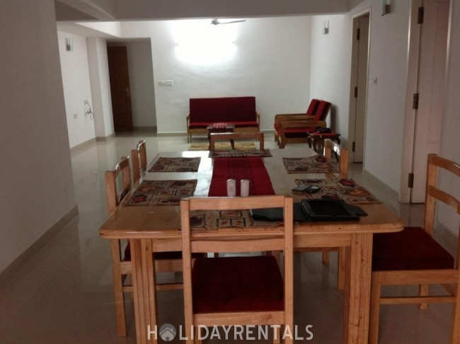 4BHK Duplex Serviced Apartment, Trivandrum