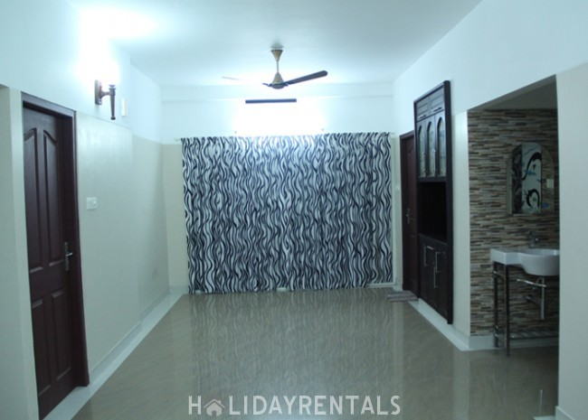 Service Apartments Near A.K.G. Center, Trivandrum