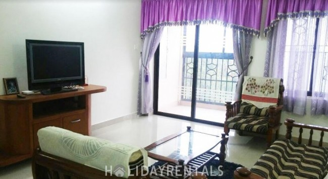 Furnished Flat near KIMS Hospital, Trivandrum