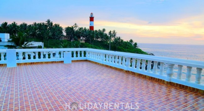 Beach View Holiday Stay, Trivandrum
