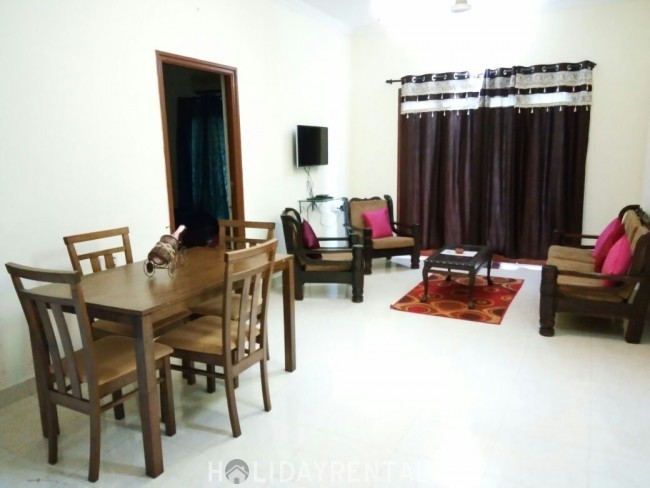 2 BHK LUXURIOUS APARTMENT WITH BALCONY, Candolim