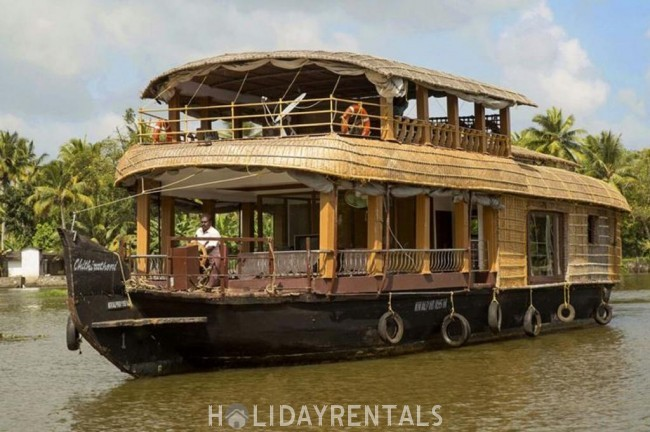Single Room House Boat, Kottayam