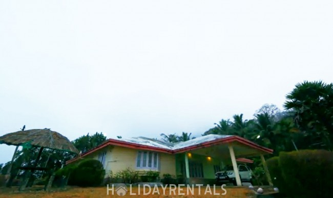 Hilltop Estate Villa near Thenmala, Kollam