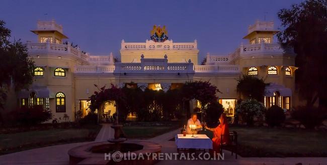 The Kankar Palace, Kanker