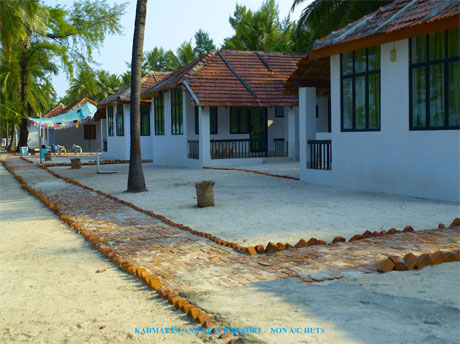 Island Beach Resort, Kadmat