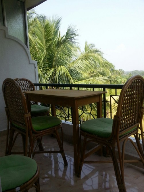 1 BHK Apartment with Pool, Calangute