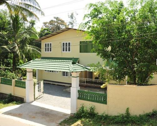 Lush green hut, Wayanad